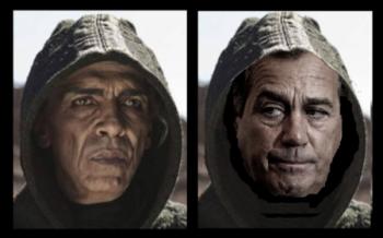 Boehner Looks Like Satan