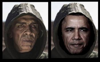 Obama Looks Like Satan
