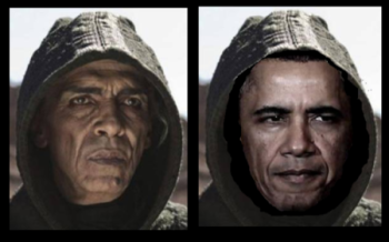 Obama Looks Like Satan