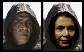 Pelosi Looks Like Satan