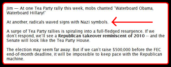 DSCC Tea Party Nazis 2