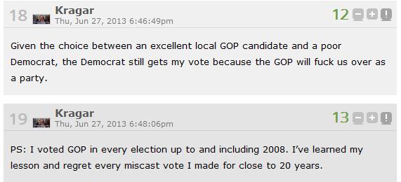 Kragar Vote