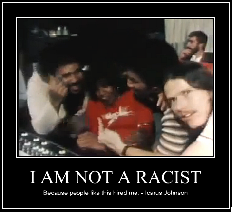 I am not a racist