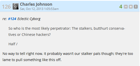 Stalkers are lame