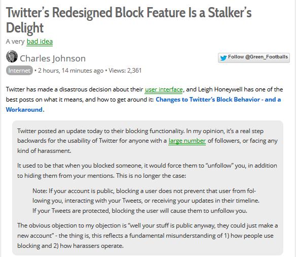 Stalkers Delight
