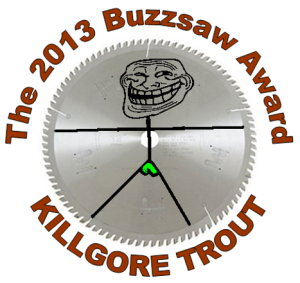 2013 The Buzzsaw Award