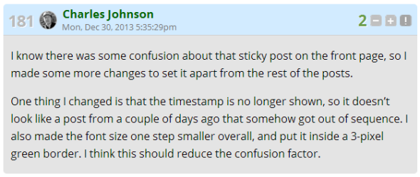 cj confusion sticky post
