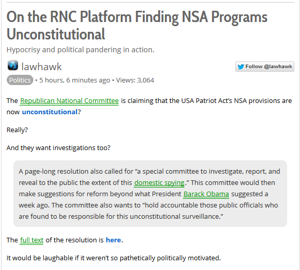 GOP NSA