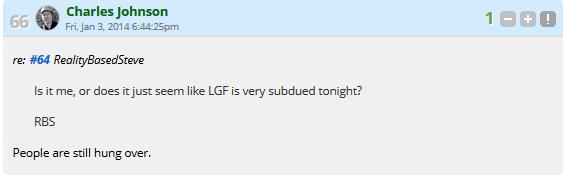 LGF Subdued