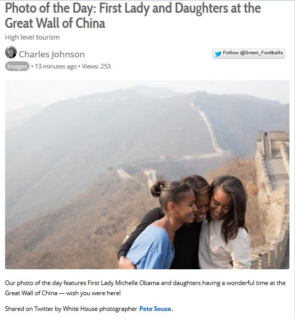 Michelle Obama China