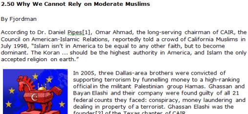 fjordman moderate muslims manifesto