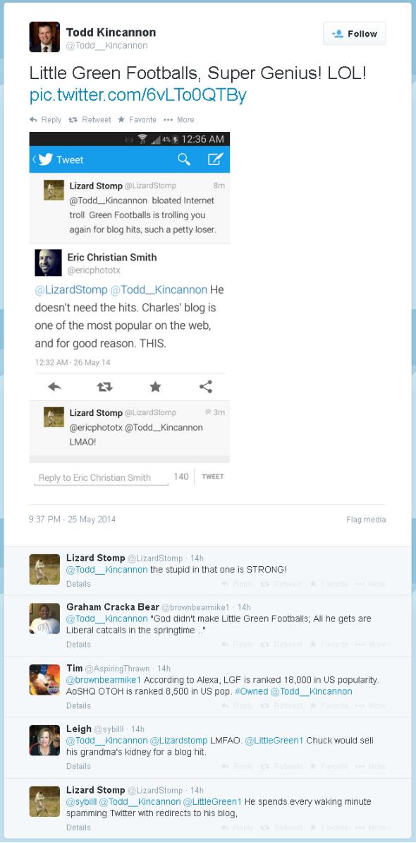 Kinkannon Twitter Smackdown