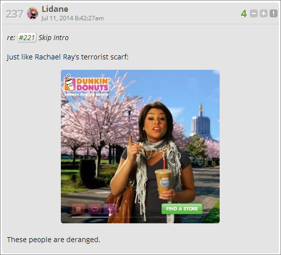 lidane scarf comment