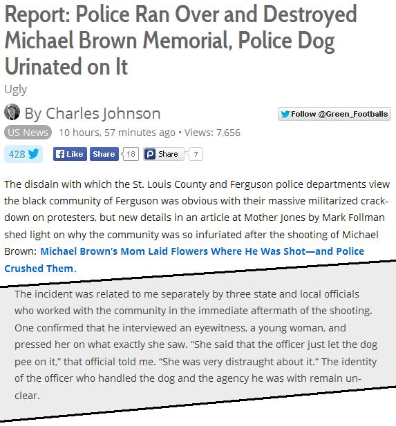 Ferguson Memorial 1