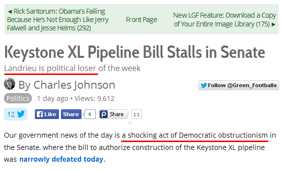 CJ on Keystone Pipeline