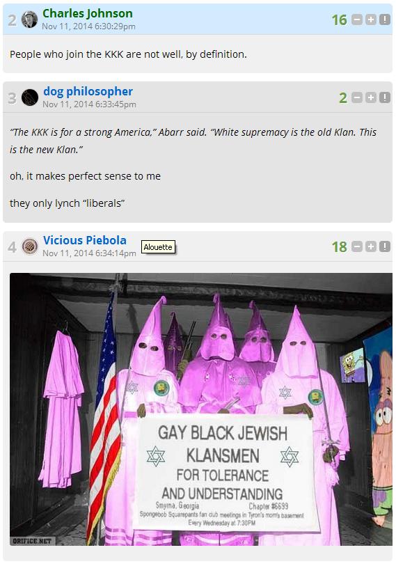LGF on KKK