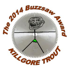 2014 Buzzsaw Award