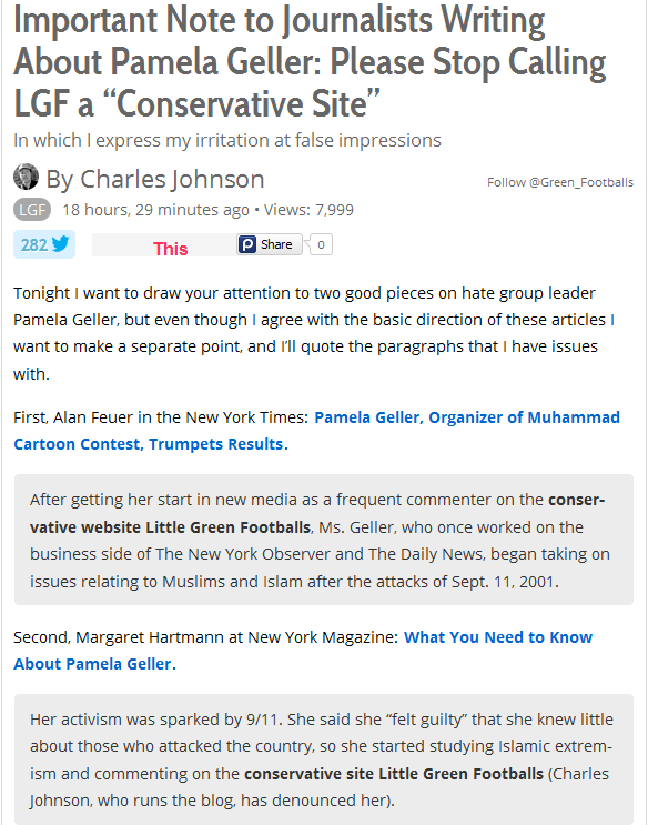 LGF is not Conservative