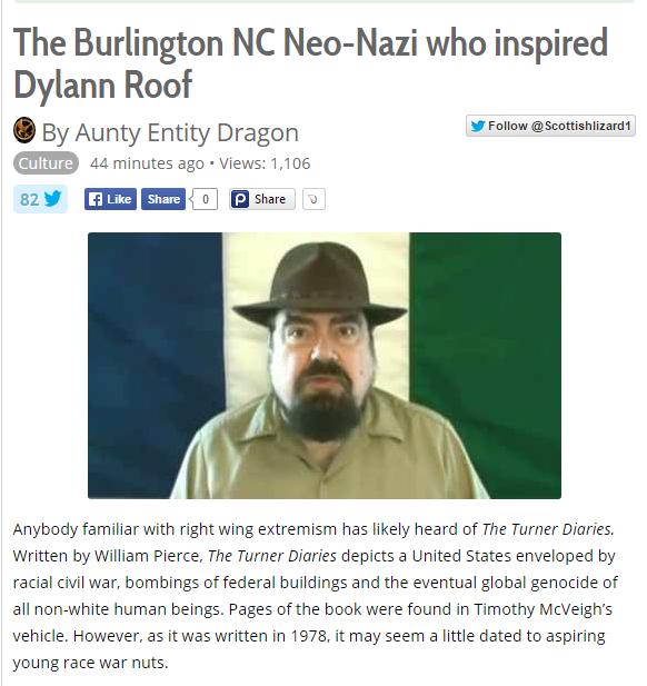 Burlington Nazi