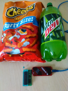 Cheetos and Dew