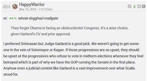 Garland is Moderate