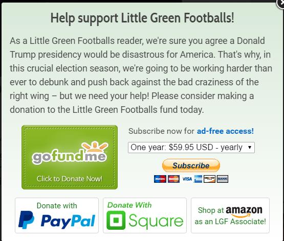 Fundraising notice