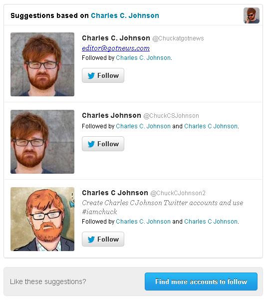 Chuck Johnson Twitter